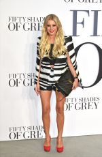 DENISE VA OUTEN at Fifty Shades of Grey Premiere in London
