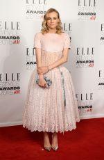 DIANE KRUGER at Elle Style Awards in London