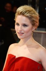 DIANNA AGRON at 2015 EE British Academy Film Awards in London