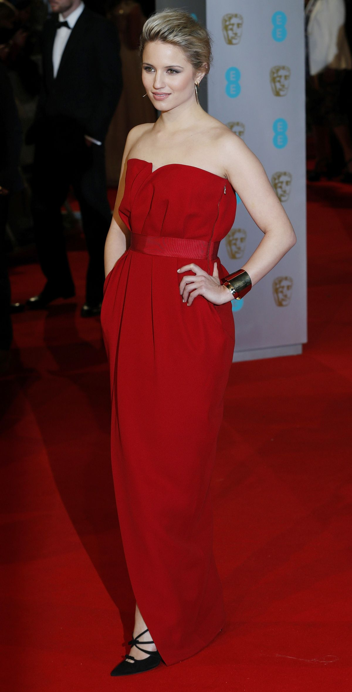 DIANNA AGRON at 2015 EE British Academy Film Awards in ...