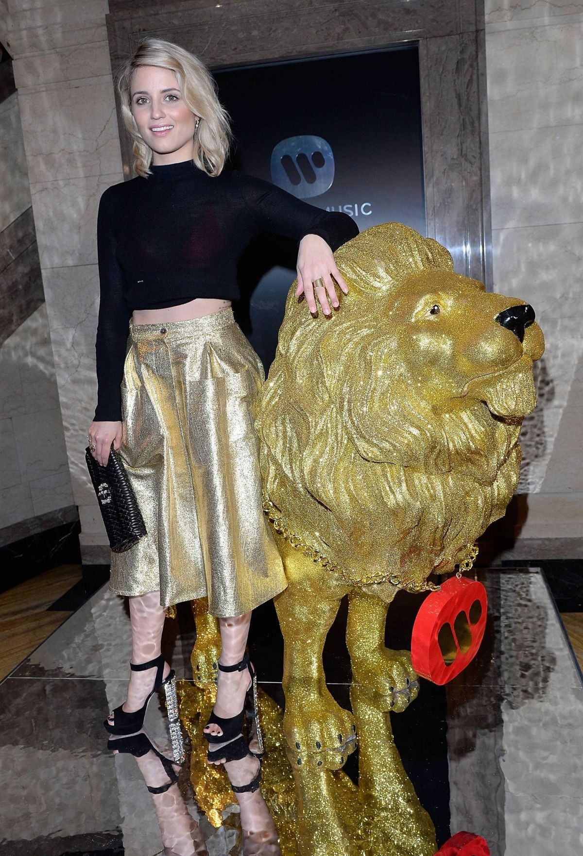 DIANNA AGRON at Universal Music Brits Party in London