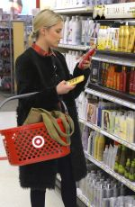 DIANNA AGRON Shopping at Target in Los Angeles