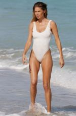 DOUTZEN KROES in Swimsuit at a Photoshoot in Miami