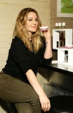DREW BARRYMORE at New Flower Launch in New York