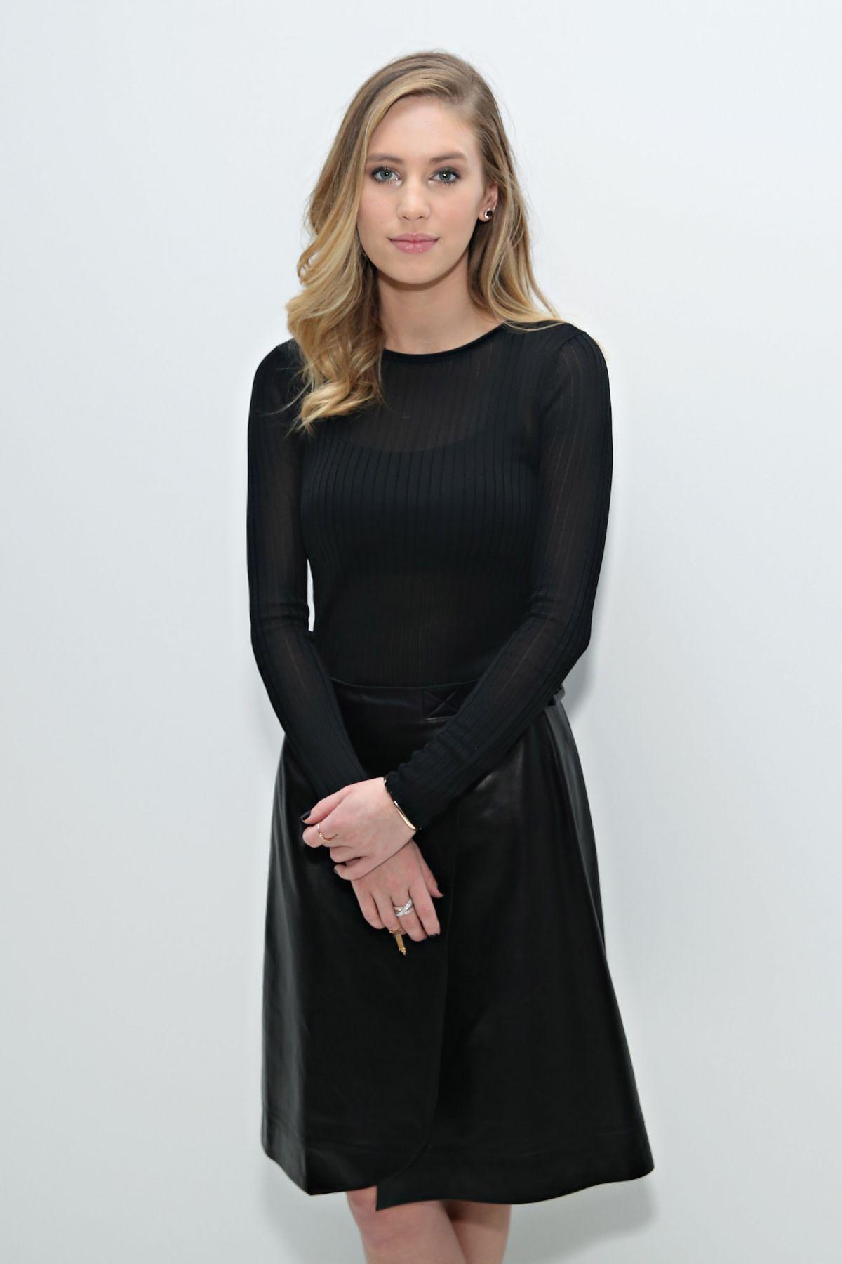 DYLAN PENN at Jill Stuart Fashion Show in New York