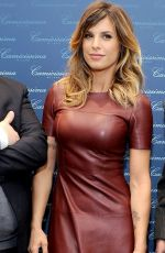 ELISABETTA CANALIS at Camicissima Opening in Milan
