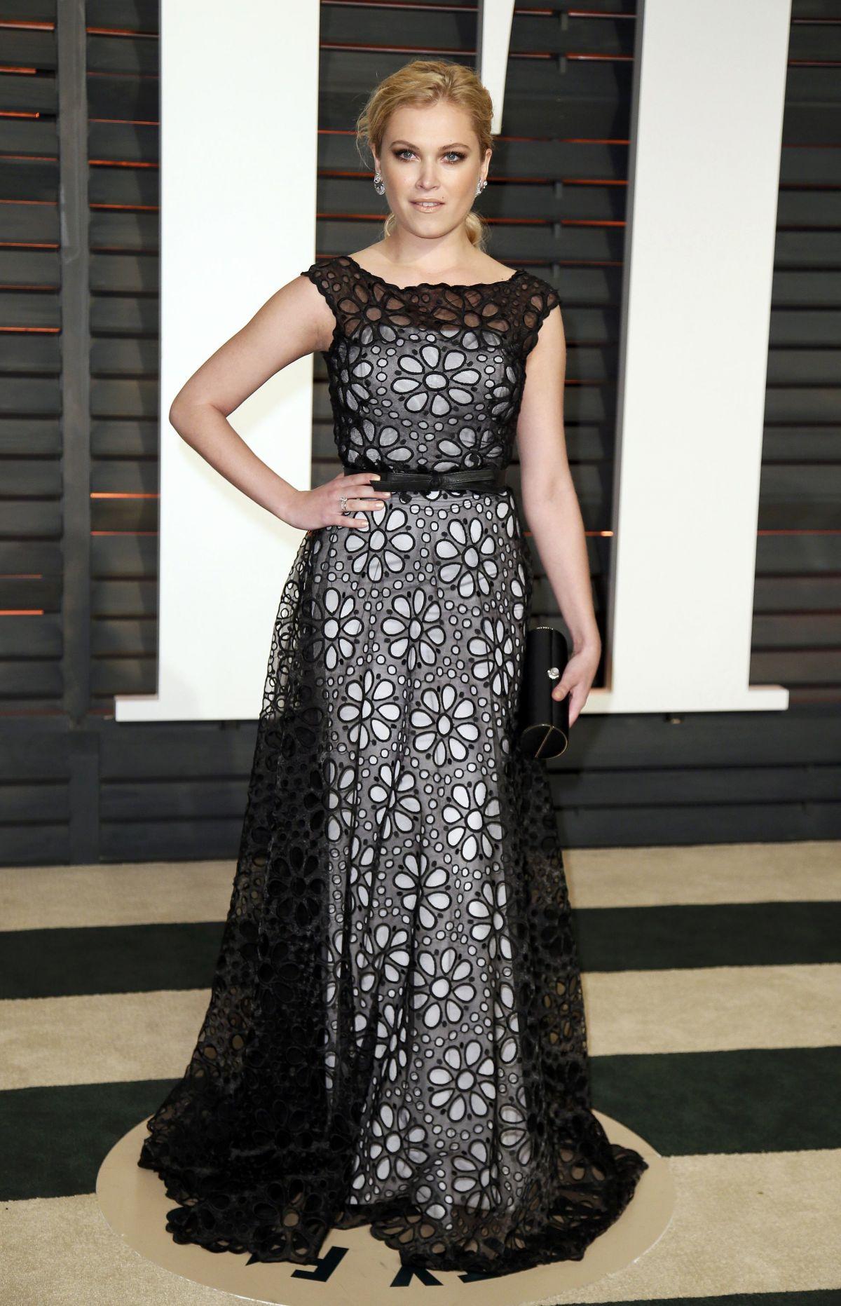 ELIZA TAYLOR at Vanity Fair Oscar Party in Hollywood