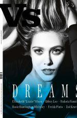 ELIZABETH OLSEN in VS Magazine, Spring/Summer 2015 Issue