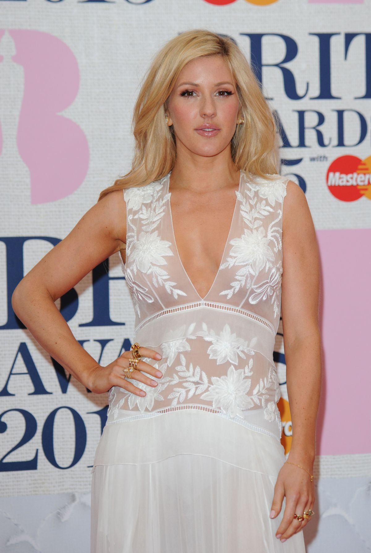 ELLIE GOULDING at Brit Awards 2015 in London – HawtCelebs
