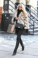 ELSA HOSK Out Shopping in New York 1502