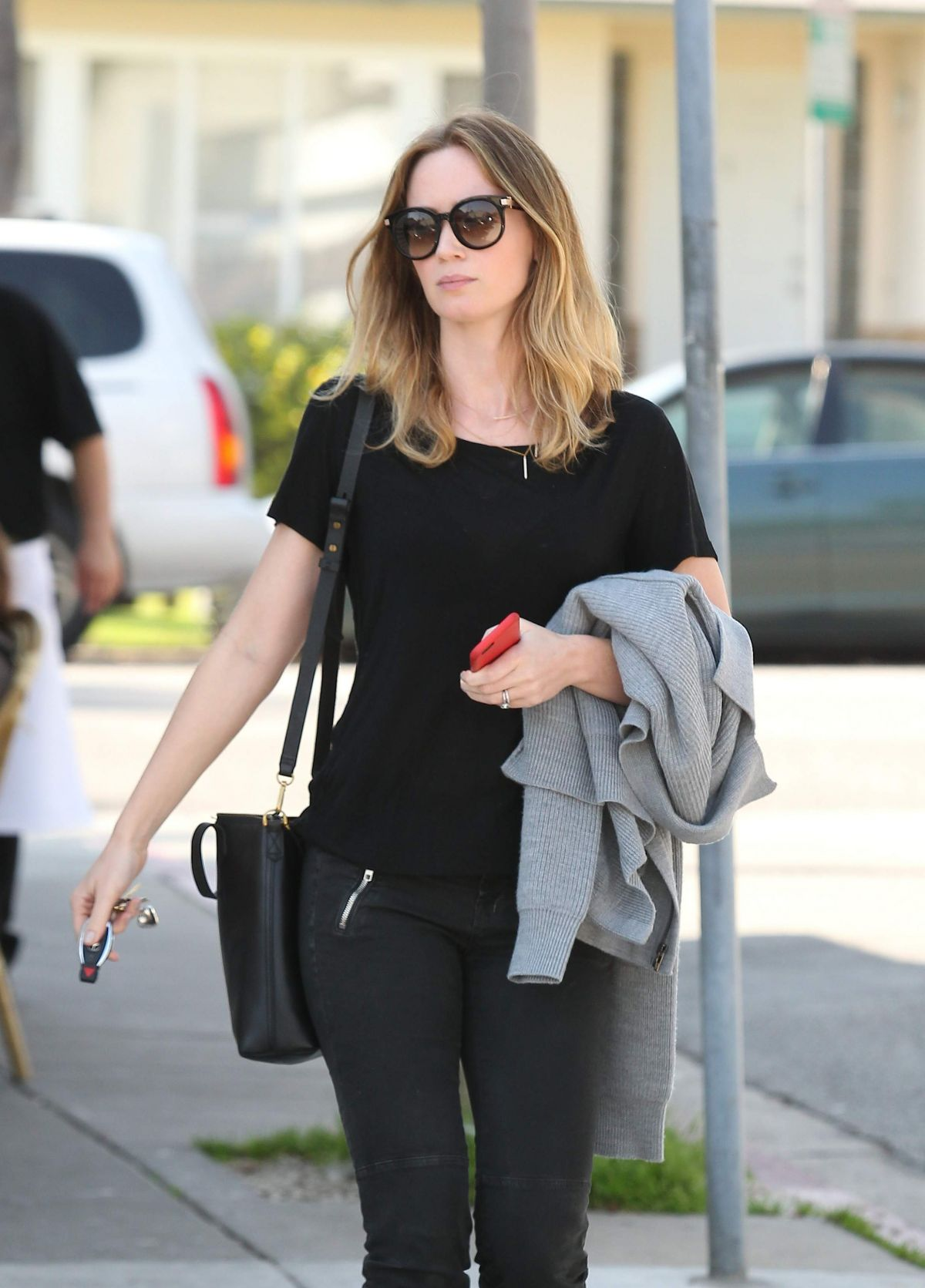 EMILY BLUNT Out and About in West Hollywood 2602