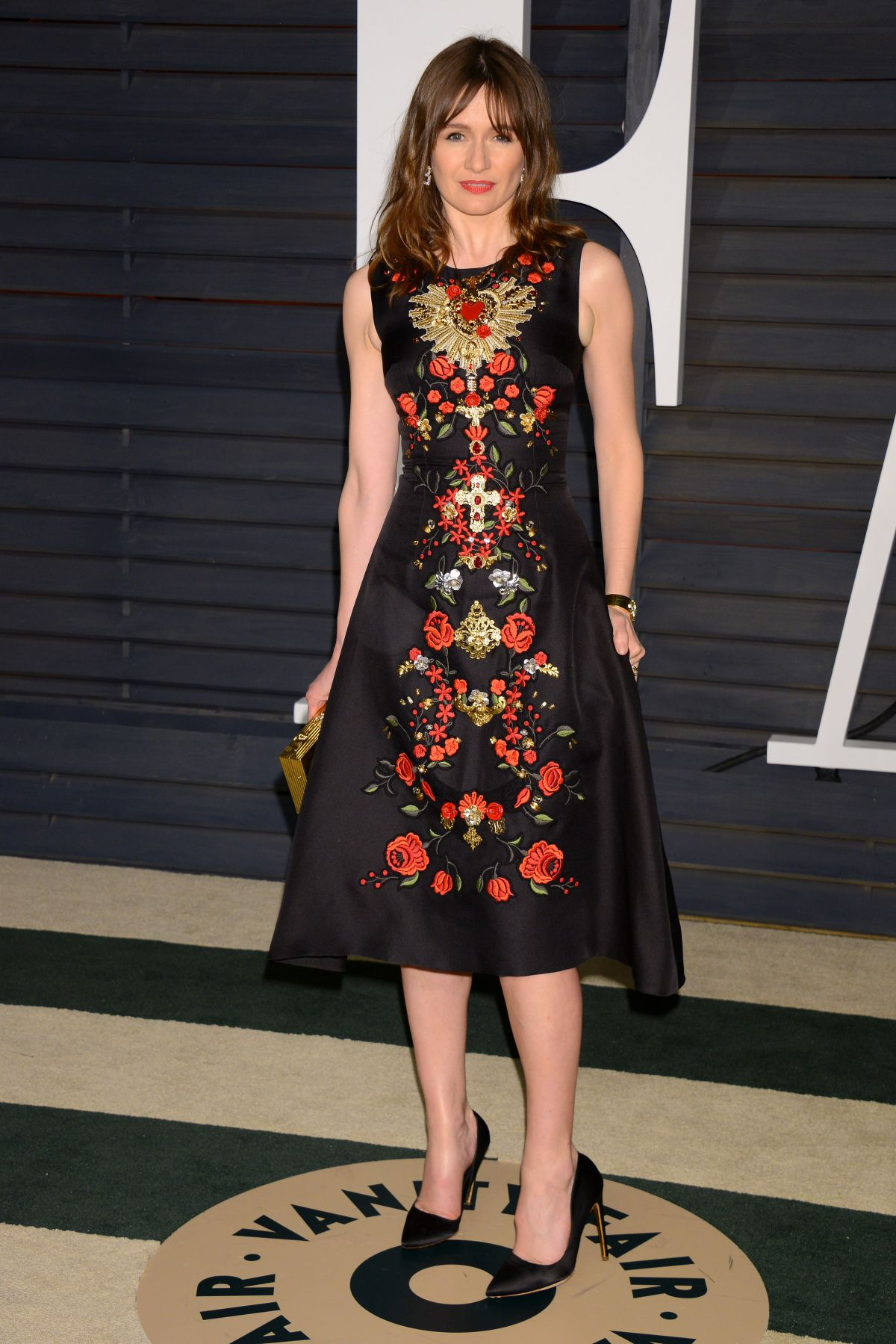 EMILY MORTIMER at Vanity Fair Oscar Party in Hollywood