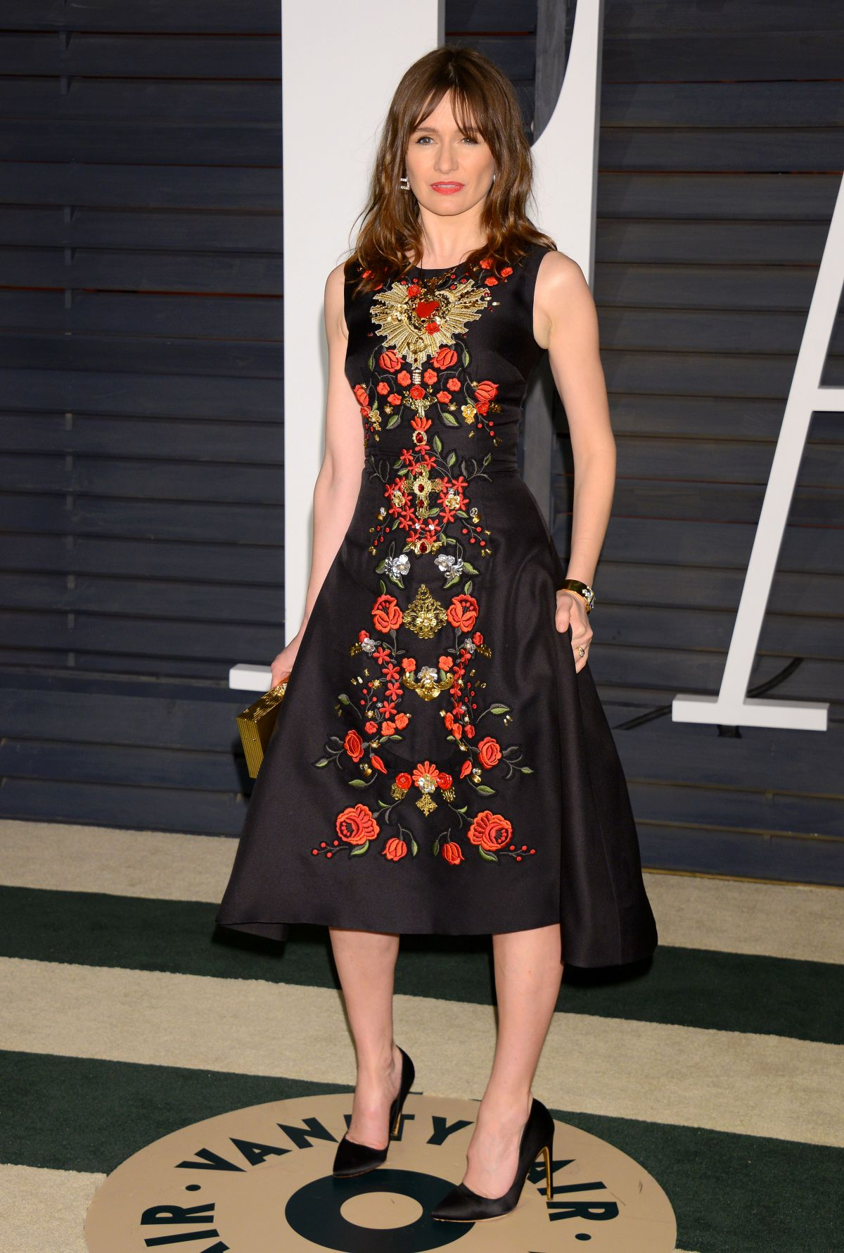 Emily Mortimer At Vanity Fair Oscar Party In Hollywood Hawtcelebs