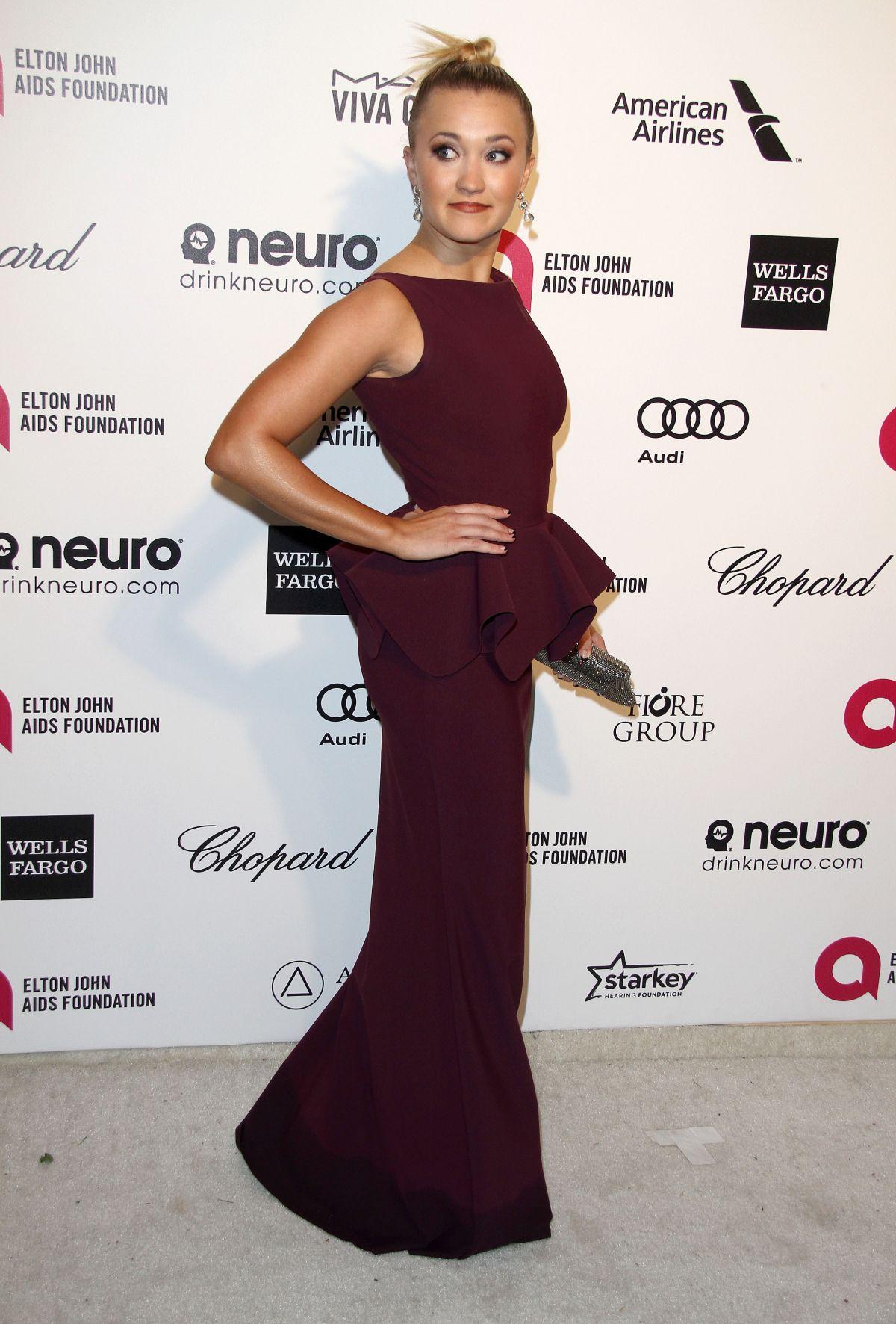 EMILY OSMENT at Vanity Fair Oscar Party in Hollywood