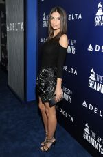 EMILY RATAJKOWSKI at Delta Air Lines Grammy Kick-off Party in West Hollywood