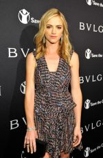 EMILY WICKERSHAM at Bvlgari and Save the Children stop. think. give. Pre-oscar Gala in Beverly Hills