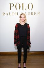 EMMA ROBERTS at Ralph Lauren Polo Mens and Womens Presentation in New York