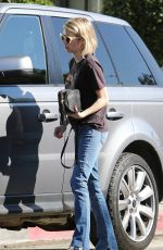 EMMA ROBERTS in Jeans Out Shopping in West Hollywood