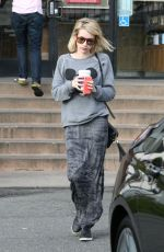 EMMA ROBERTS Leaves Coffee Bean and Tea Leaf in Los Angeles 0802