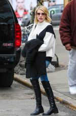 EMMA ROBERTS Out and About in New York 1202
