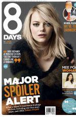 EMMA STONE at 8 Days Magazine, February 2015 Issue