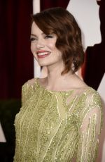EMMA STONE at 87th Annual Academy Awards at the Dolby Theatre in Hollywood