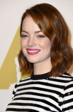 EMMA STONE at Academy Awards 2015 Nominee Luncheon in Beverly Hills