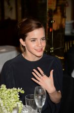 EMMA WATSON at Charles Finch and Chanel Pre-bafta Party in London