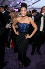 EMMANUELLE CHRIQUI at Elton John Aids Foundation's Oscar Viewing Party