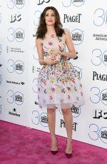 EMMY ROSSUM at 2015 Film Independent Spirit Awards in Santa Monica