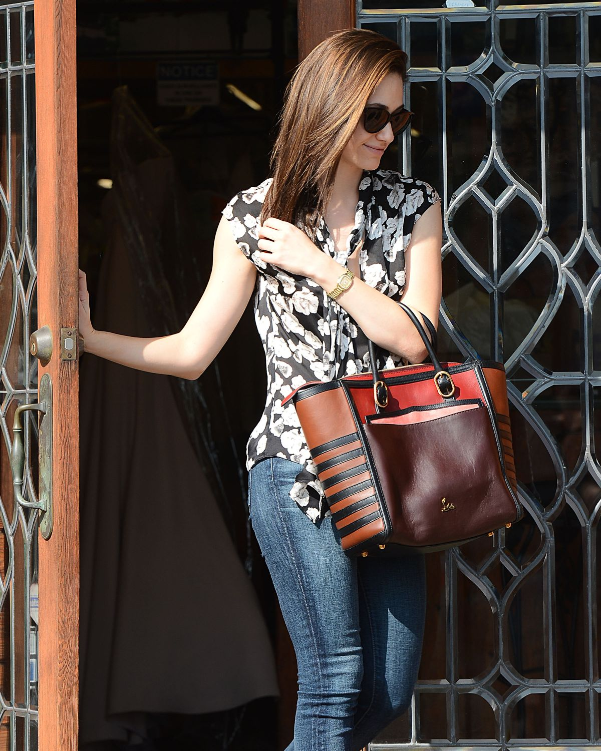 EMMY ROSSUM Out and About in Los Angeles 1602