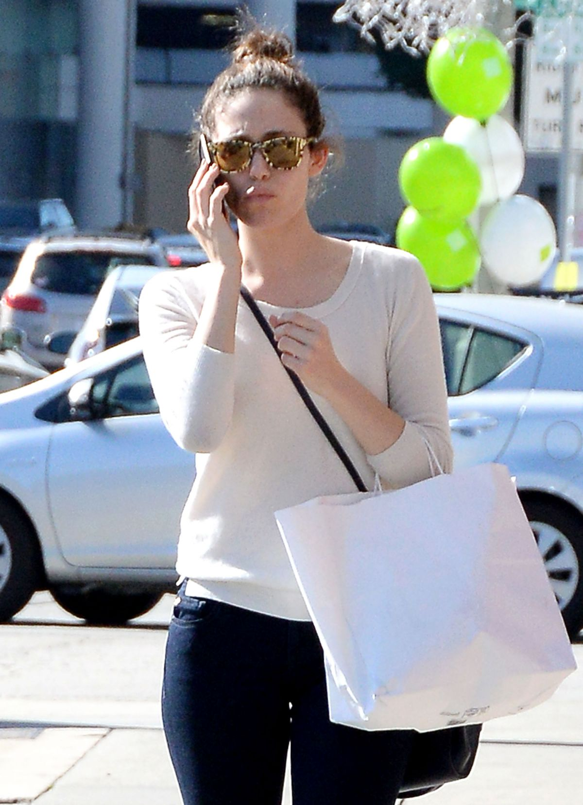 EMMY ROSSUM Out Shopping in West Hollywood 1002