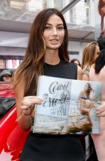 ERIN HEATHERTON and LILY ALDRIDGE at Swim City Launch Festival in New York