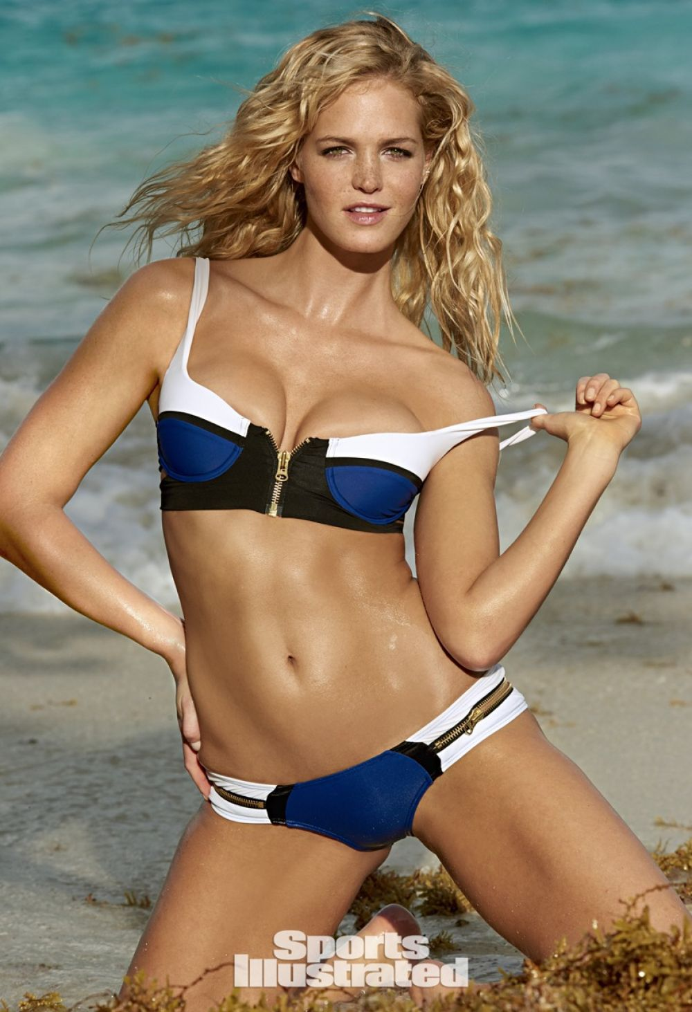 ERIN HEATHERTON in Sports Illustrated Swimsuit 2015 Issue