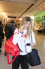 EUGENIE BOUCHARD at Montreal Airport