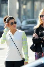 EVA LONGORIA and MELANIE GRIFFITH Out Shopping in Beverly Hills