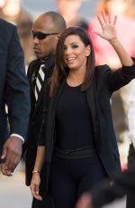 EVA LONGORIA Arrives at Jimmy Kimmel Live! on Hollywood