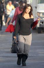 EVA LONGORIA Filming a Commercial in Malibu