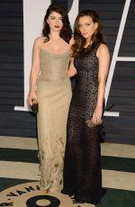 EVE HEWSON at Vanity Fair Oscar Party in Hollywood