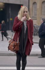 FEARNE COTTON Out and About in London 1202