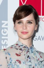 FELICITY JONES at Art Directors Guild Excellence in Production Design Awards in Beverly Hills