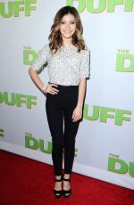 GENEVIEVE HANNELIUS at The Duff Screening in Hollywood