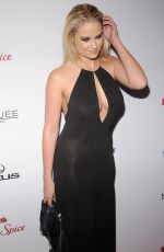 GENEVIEVE MORTON at 2015 Sports Illustrated Swimsuit Issue Celebration in New York