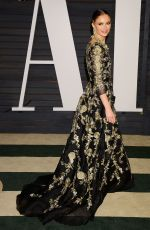 GEORGINA CHAPMAN at Vanity Fair Oscar Party in Hollywood