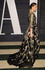 GEORGINA CHAPMAN at Vanity Fair Oscar Party in Hollywood