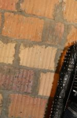 GIGI HADID at Diesel Black Gold Fashion Show in New York