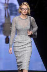 GIGI HADID at Max Mara Fashion Show in Milan