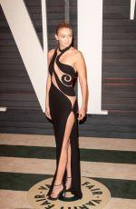 GIGI HADID at Vanity Fair Oscar Party in Hollywood