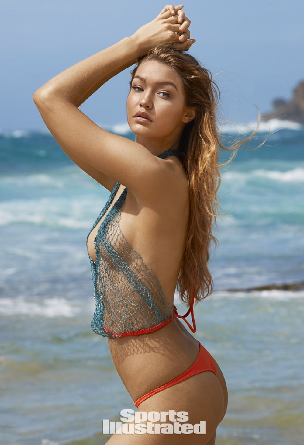 GIGI HADID in Sports Illustrated Swimsuit 2015 Issue ...