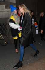 GIGI HADID Out and About in Milan 2602